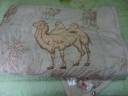 Новое двуспальное одеяло из верблюжьей шерсти,  в упаковке